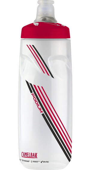 CamelBak Podium Trinkflasche 710ml clear red